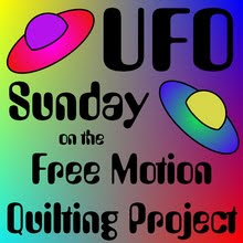 UFO Sundays on the Free Motion Quilting Project