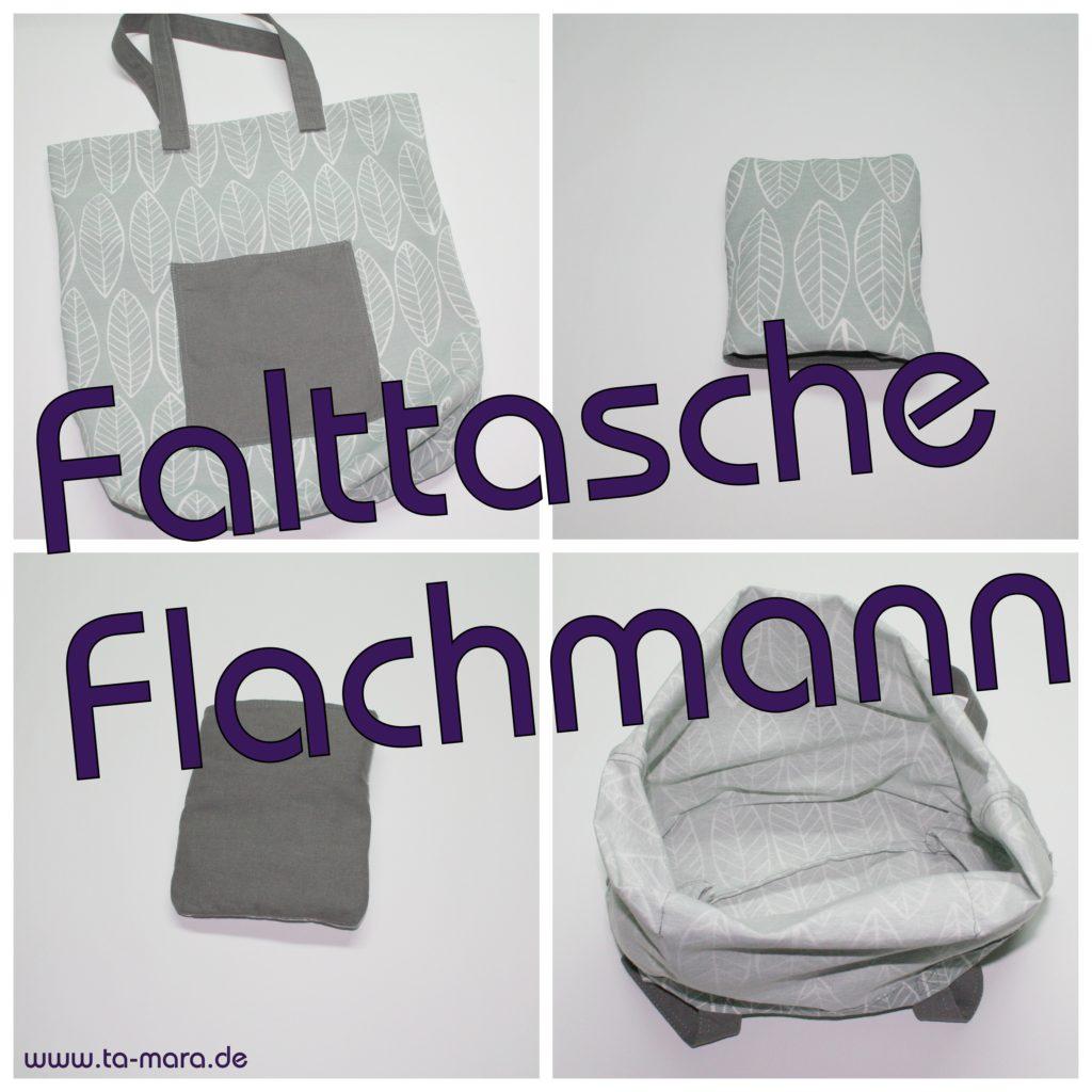 Anleitung Falttasche Flachmann